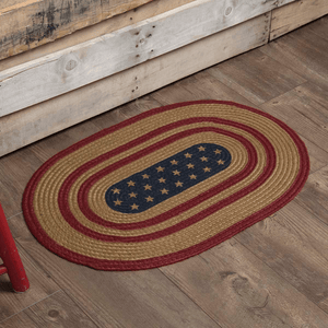 Liberty Stars Braided Rugs