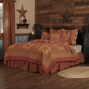Ninepatch Star Bedding