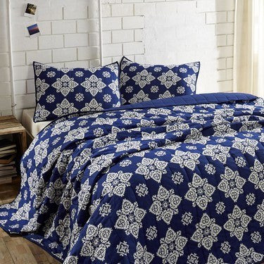 Adelaide Twilight Blue Bedding