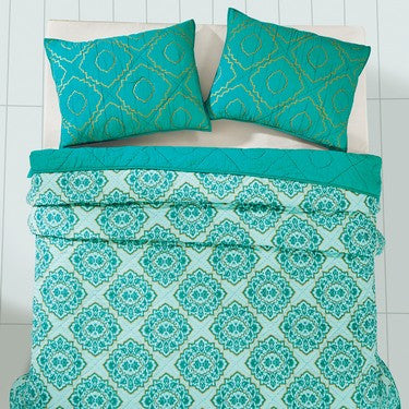 Adria Spectra Green Bedding