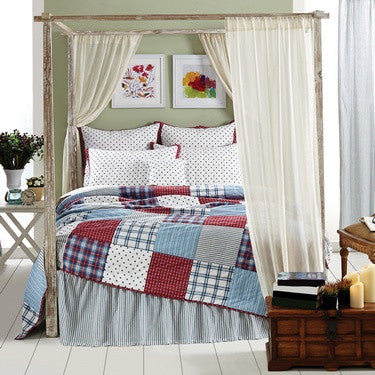 Brighton Quilted Bedding