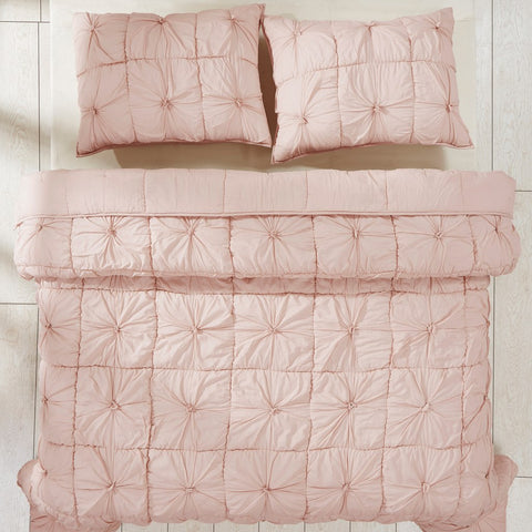 Camille Blush Pink Bedding