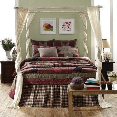 Carson Star Quilted Bedding