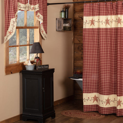 Cheston Star and Pip Shower Curtain