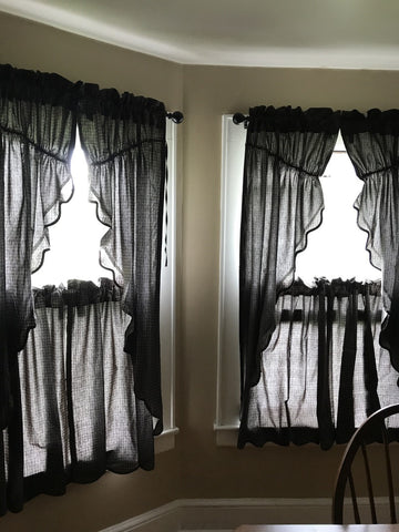 Kettle grove prairie curtains and tiers