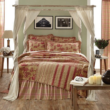 Elaine Rouge Bedding