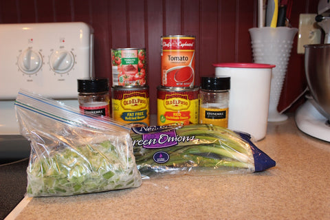 Enchiladas ingredients