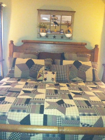 Bingham star bedding set