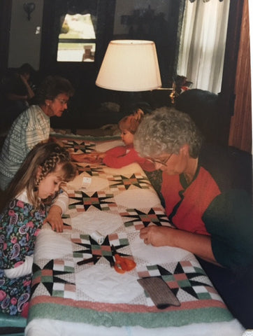 Family quilting