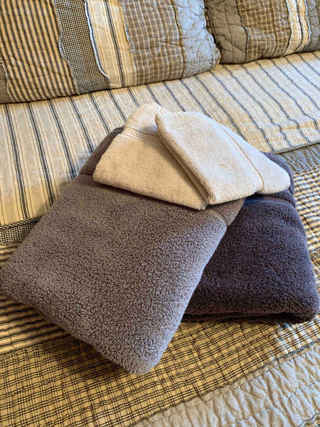Guest room towels