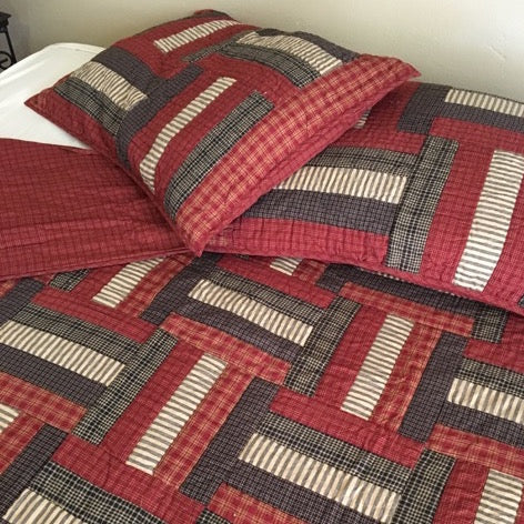 Lincoln Quilted Bedding