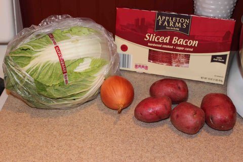 Colcannon ingredients