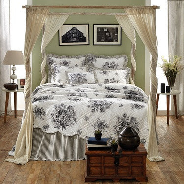 Josephine Black Bedding