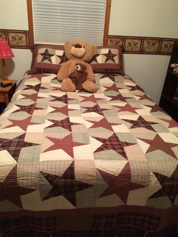 Abilene Star bedding
