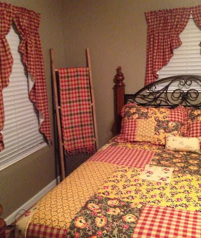 Cambrie lane bedding and curtains