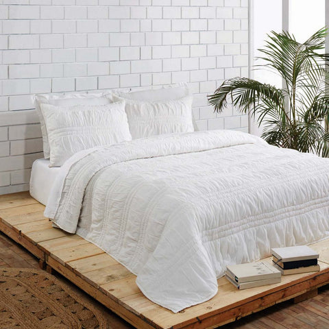 Natasha Porcelain White Bedding