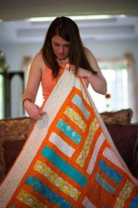 America's Brightest Orange quilt