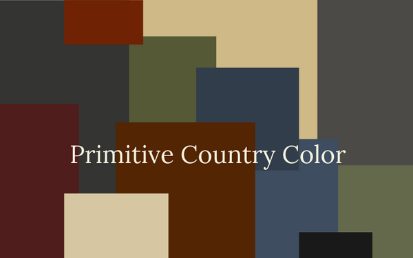 Primitive Country Color