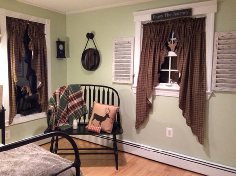 Customer picture of prairie curtains and pillow