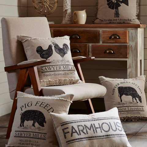 Sawyer Mill Throw Pillows