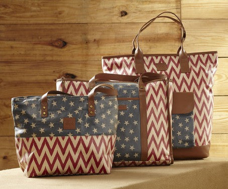 Antebellum canvas handbags