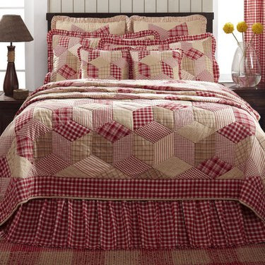 Breckenridge quilted bedding