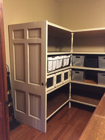 Completed storage project