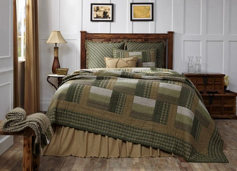 Montgomery quilted bedding