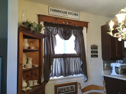 Primitive country home tour pictures from our customers ...