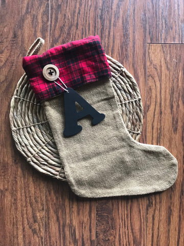Red Flannel stocking