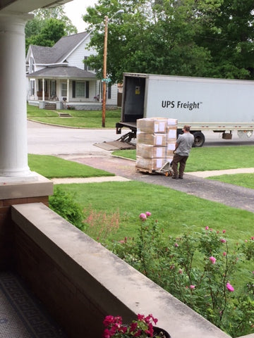 Freight truck delivery