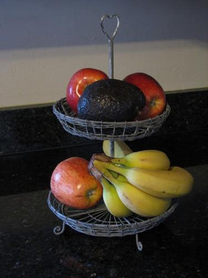 Two Tier Wire Serving Stand