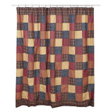 Old Glory Shower Curtain - Primitive Star Quilt Shop