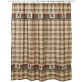 Plymouth Shower Curtain - Primitive Star Quilt Shop