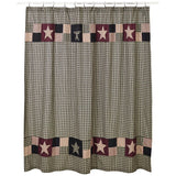 Plum Creek Shower Curtain - Primitive Star Quilt Shop