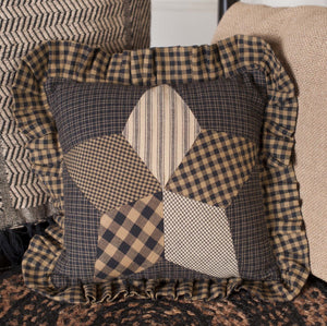 Farmhouse Star Pillow 10x10""