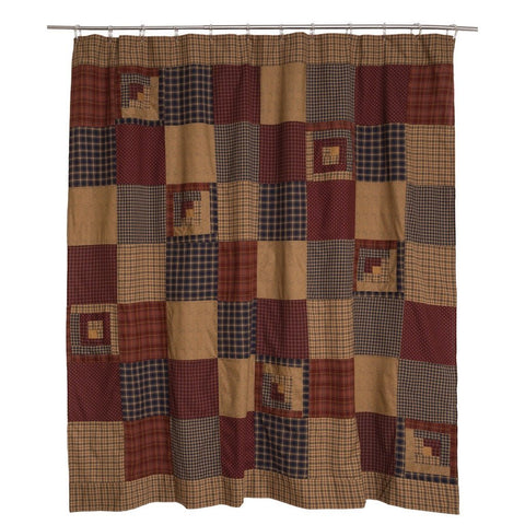 Millsboro Shower Curtain - Primitive Star Quilt Shop - 1