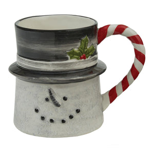 Sketchbook Snowman Mug