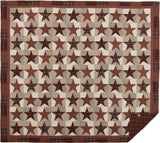 Abilene Star Quilt California King Quilt- Primitive Star Quilt Shop