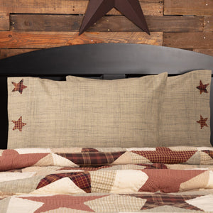 Abilene Star Standard Pillow Case - Set of 2