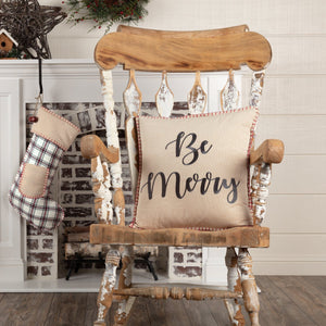 "Amory Be Merry Pillow 18"" Filled"
