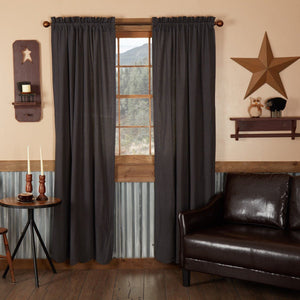 Arlington Scalloped Lined Panel Curtains 84""