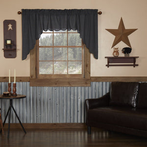 Arlington Scalloped Lined Swag Curtains