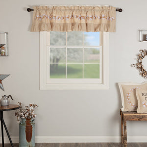 Ashmont Cotton Lined Valance 90""