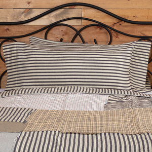 Ashmont Ticking Stripe King Pillow Case - Set of 2