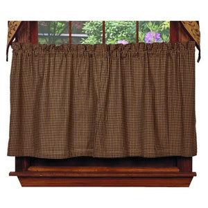 Berry Tier Curtains 36""