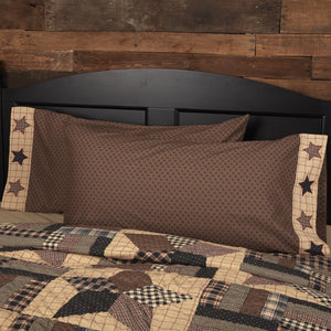 Bingham Star King Pillow Case - Set of 2