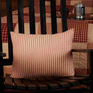 "Cheston Fabric Pillow 14x18"" Filled"