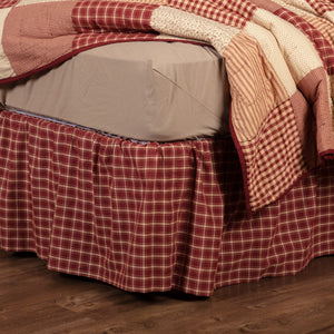 Cheston Plaid Bed Skirt