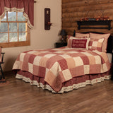 Cheston Star and Pip Bed Skirt - Primitive Star Quilt Shop